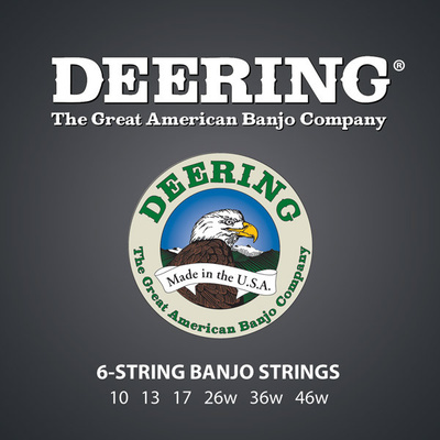 Deering - 6-string Banjo String Set