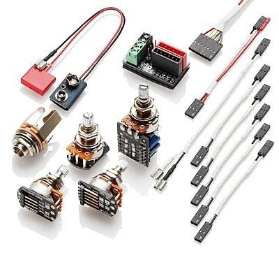 EMG - 1 or 2 Pickups P/P Wiring Kit