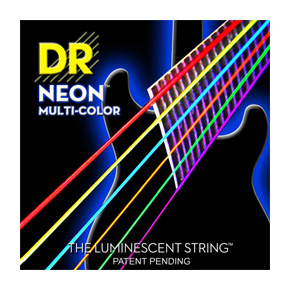 DR Strings - NEON Hi-Def Multi-Color