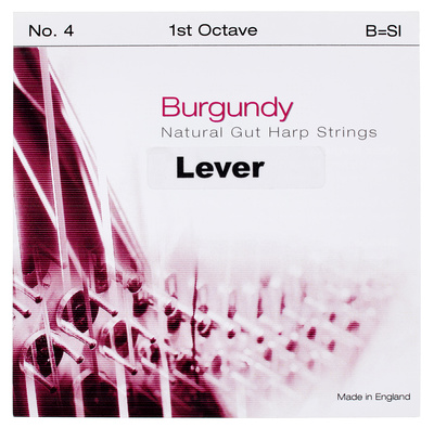 Bow Brand - Burgundy 1st A Gut String No.5