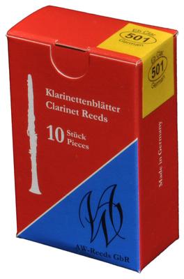 AW Reeds - 501 German Eb-Clarinet 4+