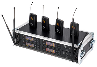 the t.bone - free solo PT 590 MHz/4 CH Rack