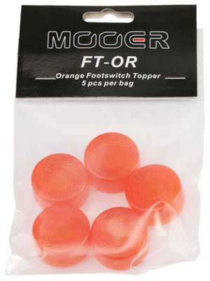 Mooer - Candy Footswitch Topper Orange