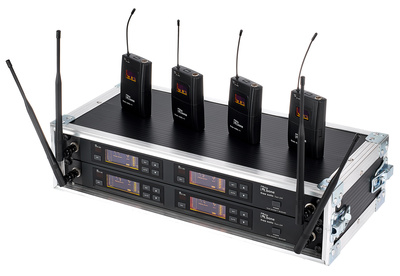 the t.bone - free solo PT 660 MHz/4 CH Rack
