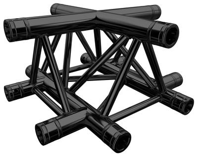 Global Truss - F33C41-B Cross Black
