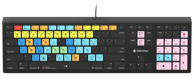 Editors Keys - Backlit Keyboard Cubase MAC DE