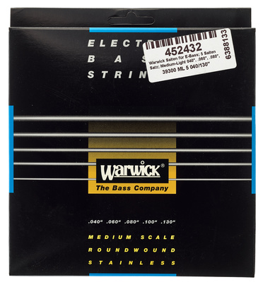 Warwick - Bass String 5-St. Med/Light