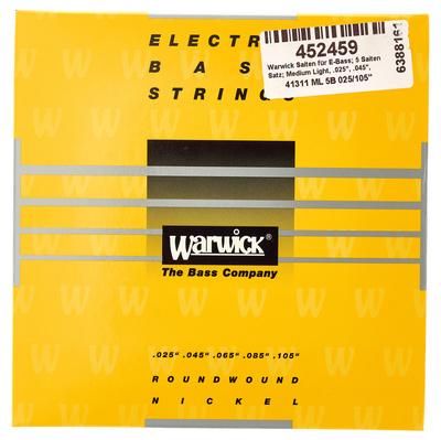 Warwick - Bass Set 5 String Med/Light