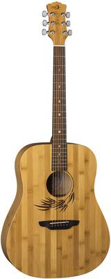 Luna Guitars - Woodland Bamboo Dread SN
