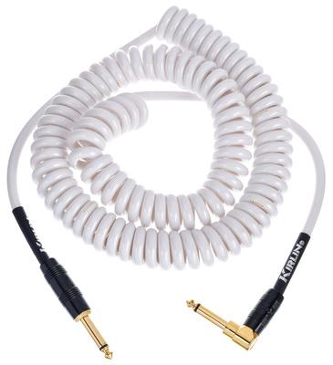 Kirlin - Premium Coil Cable 6m White