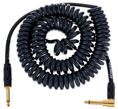 Kirlin - Premium Coil Cable 6m Black