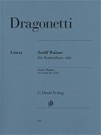 Henle Verlag - Dragonetti Walzer Kontrabass