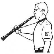 BG - C23 E Clarinet Strap