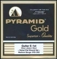 Pyramid - Gold Flatwound 412100