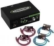 M-Audio - MIDISport 2X2 USB Bundle