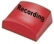 Canford Audio - Recording Illum. Sign Typ A
