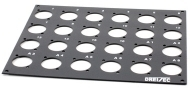 pro snake - Front Panel 4HE 16/8