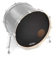 Evans - 24' Onyx Resonant Bass Drum