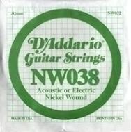 Daddario - NW038 Single String