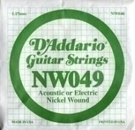 Daddario - NW049 Single String