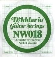 Daddario - NW018 Single String