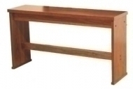 Viscount - Organ Bench Dark Oak 30