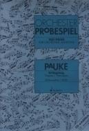 Schott - Orchester Probespiel Pauke