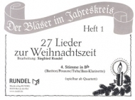 Musikverlag Rundel - 27 Lieder Weihnacht 4 Bb