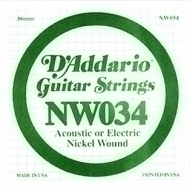 Daddario - NW034 Single String