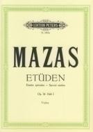 C.F. Peters - Mazas Etüden op.36 Heft 1