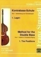 C.F. Schmidt Musikverlag - Simandl Method Double Bass 1