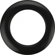 Bass Drum O's - 2' Black round HBL2