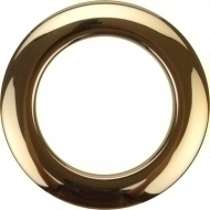 Bass Drum O's - 2' Brass round HBR2