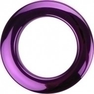 Bass Drum O's - 2' Purple chrome round HCP2