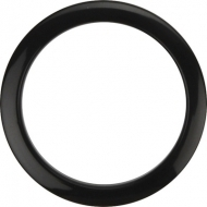 Bass Drum O's - 4' Black round HBL4