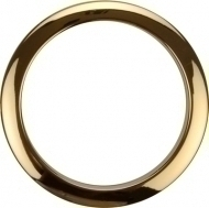 Bass Drum O's - 4' Brass round HBR4