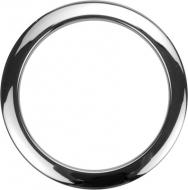 Bass Drum O's - 4' Chrome round HC4