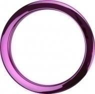 Bass Drum O's - 4' Purple Chrome round HCP4