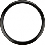 Bass Drum O's - 6' Black round HBL6