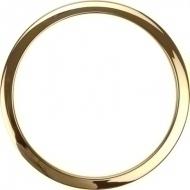 Bass Drum O's - 6' Brass round HW6