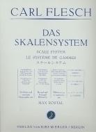 Ries und Erler Musikverlag - Flesch Scale System Violin