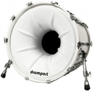 Drumport - 20' Megaport Booster White