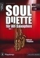 Artist Ahead Musikverlag - Soul Duette für Alt-Saxophon
