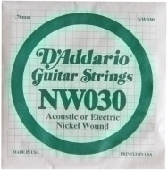 Daddario - NW030 Single String