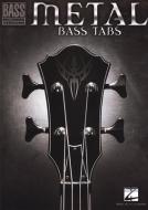 Hal Leonard - Metal Bass Tabs