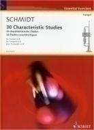 Schott - Characteristic Studies Trumpet