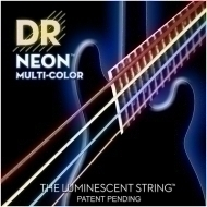 DR Strings - Neon HiDef Multi-Color Bass 5