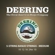 Deering - 5 String Banjo Medium Set