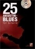 Play-Music Publishing - 25 Akustik-Blues für Gitarre