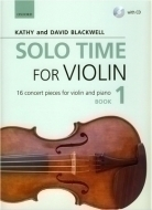 Oxford University Press - Solo Time For Violin Book 1